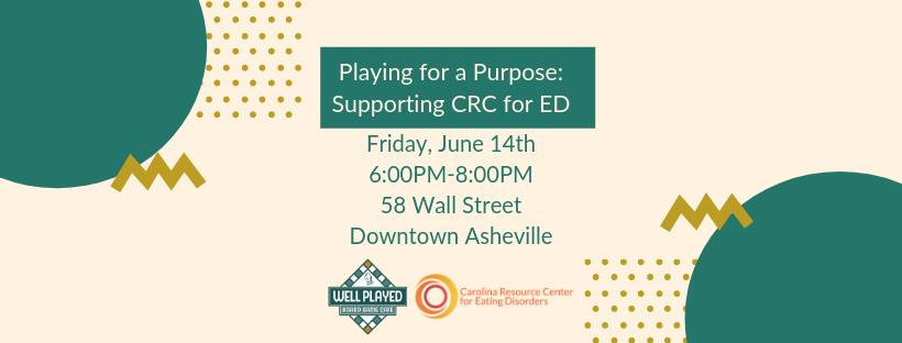 Playing for a Purpose: Supporting CRC for ED